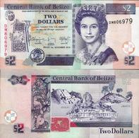 Belize 2014 - 2 Dollars - Pick 66e UNC - Belize