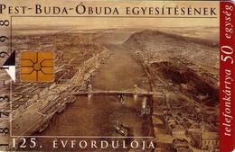 TARJETA TELEFONICA DE HUNGRIA. El Nacimiento De Budapest. HU-P-1998-09A. (109) - Hungría
