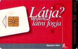 TARJETA TELEFONICA DE HUNGRIA. ESPACIO PUBLICITARIO. HU-P-1998-10B. (093) - Hungría