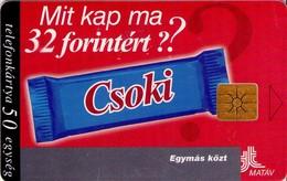 TARJETA TELEFONICA DE HUNGRIA. CSOKI. HU-P-1998-22B. (083) - Hungría