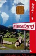 TARJETA TELEFONICA DE HUNGRIA. INTERNETLAND. HU-P-1998-27A. (105) - Hungría