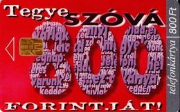 TARJETA TELEFONICA DE HUNGRIA. EUROCHIP, ODS, 800. HU-P-1999-01. (100) - Hungría