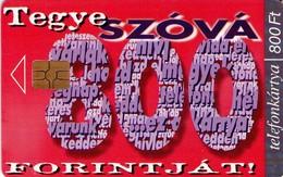 TARJETA TELEFONICA DE HUNGRIA. EUROCHIP, GEMPLUS, 800. HU-P-1999-06. (099) - Hungría