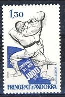 +D3091. Andorra 1979. Sport : Judo. Michel 302. MNH(**) - Ungebraucht