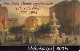 TARJETA TELEFONICA DE HUNGRIA. ESCUDO DE ARMAS DE BUDAPEST. HU-P-1999-03B. (085) - Hungría