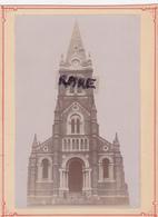 PHOTO ANCIENNE 1870,69,RHONE,LYON,VAUGNERAY,EGLISE SAINT ANTOINE,CATHOLIQUE,RARE - Plaatsen