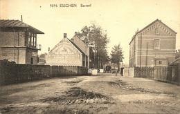 ESSCHEN (Essen) - Barreel / Spoorwegovergang - Met Muurreclame De Moriaan (koffie) - Hoelen H9096 - 1925 - Essen