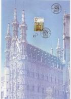 """BELG.2001 2979 Prachtige A4 Formaat Kaart """"Katholieke Universiteit Van Leuven/ Université Catholique De Louvain""""met Eers - FDC"""