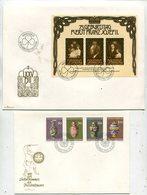 Liechtenstein / Lot Mit 4 Guten FDC (25498-30) - Briefmarken