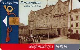 TARJETA TELEFONICA DE HUNGRIA. Oficina De Correos De Sopron. HU-P-2000-03. (168) - Hungría