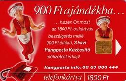 TARJETA TELEFONICA DE HUNGRIA. Hangposta Kártya. Tarjeta De Correo De Voz. HU-P-2000-34. (221) - Hungría