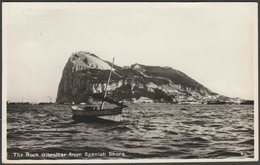 The Rock, Gibraltar, From Spanish Shore, C.1950s - Rex RP Postcard - Gibraltar