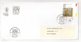 """BELG.2001 2979 Verzonden Brief  """"Katholieke Universiteit Van Leuven/ Université Catholique De Louvain""""met Eerstedag Stem - FDC"""