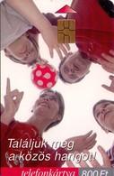 TARJETA TELEFONICA DE HUNGRIA. Összhang. Armonía. HU-P-2001-19. (225) - Hungría