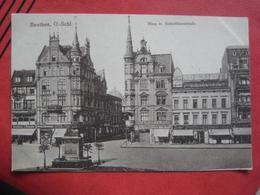 Bytom / Beuthen O.-S.: Ring Mit Schließhausstraße - Poland