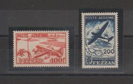 Fezzan Paire PA 4 Et 5, 2 Val. ** MNH - Fezzan (1943-1951)