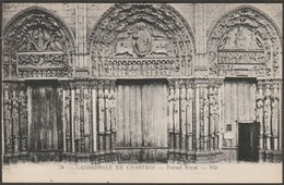 Portail Royal, Cathédrale De Chartres, C.1920s - Lévy Et Neudein CPA ND28 - Chartres