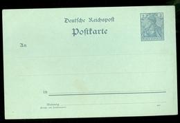 Deutsches Reich Postkarte Unbenutzt Ongebruikt  (11.451L) - Germany