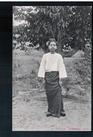 BURMA/ MYANMAR A Typical Burmese Girl Ca 1910 OLD POSTCARD 2 Scans - Myanmar (Burma)
