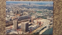 CPM BIBLIOTHEQUE DE FRANCE ARCHITECTE D PERRAULT PARIS 13 EME EN CONSTRUCTION - Bibliothèques