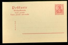Deutsches Reich Postkarte 10 Pf Niet Gelopen (11.451q) - Germany