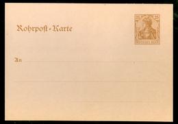 Deutsches Reich Postkarte 25 Pf Niet Gelopen (11.451o) - Covers & Documents