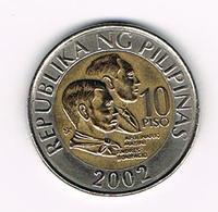 &  PILIPINAS  10  PISO  2002 - Philippines