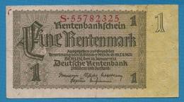 DEUTSCHES REICH 1 Rentenmark  30.01.1937# S.55782325 P# 173b - Other