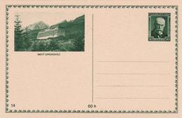 Entier Postal Ceskoslovensko - Tchecoslovaquie - Novy Smokovec - Non écrit/Non Oblitéré - Entiers Postaux