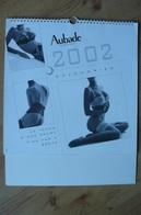 Calendrier AUBADE 2002 Lingerie Sexy - Le Temps D'une Pause / Time For A Break - Erotique - Calendars