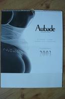 Calendrier AUBADE 2003 Lingerie Sexy - La Femme, L'image, Aubade Tout Simplement - Erotique - Calendars