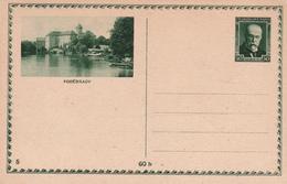 Entier Postal Ceskoslovensko - Tchecoslovaquie - Podébrady - Non écrit/Non Oblitéré - Entiers Postaux