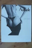 Calendrier AUBADE 2004 Lingerie Sexy - Erotique - Calendari