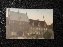 Averbode, Le Porche Antique Et La Cure  (D6) - Scherpenheuvel-Zichem