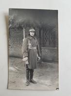 Photo/CP D'un Militaire/soldat Belge - Camp De Beverloo - 1925 (Belgique) - Caserne/Armée/Service Militaire - Guerre, Militaire