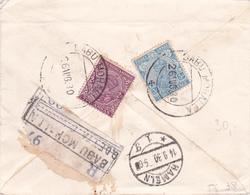 India 1930 - One Anna - Postal Stationary Envelope Registered - Enveloppes