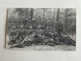Photo/CP D'un Groupe De Militaires/soldats Belges - Camp De Beverloo - 1925 (Belgique) - Caserne/Armée/Service - Guerre, Militaire