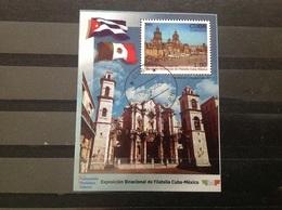 Cuba - Sheet Joint-Issue Mexico-Cuba (1) 2004 - Gebruikt