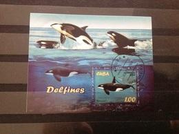 Cuba - Sheet Dolfijnen (1) 2004 - Gebruikt