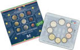 Italie 2011 : Coffret BU Des 9 Pièces (dont La 2€ Commémorative) - Disponible En France - Italie