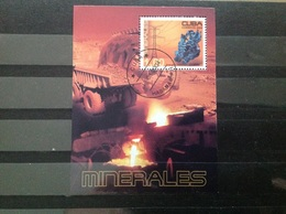 Cuba - Sheet Mineralen (1) 2004 - Cuba