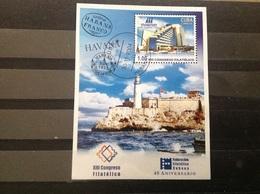 Cuba - Sheet 40 Jaar Filatelie Federatie (1) 2004 - Gebruikt