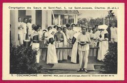 CPA Religion - Congrégation Des Sœurs De Saint-Paul De Chartres - Cochinchine - Bentré - Sous Un Petit Ombrage - Iglesias Y Las Madonnas