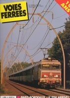 Revue Voies Ferrées N° 061 Paris-Bordeaux, Cantal, TGV A En Aquitaine, Troyes St Florentin, 231 G 558 Etc.... - Railway & Tramway