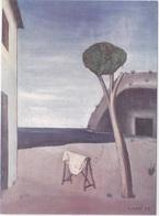 ECONOMIA ITALIANA TRA LE DUE GUERRE MOSTRA 23-9-84 C. CARRA' IL PINO SUL MARE  AUTENTICA 100% - Cartoline