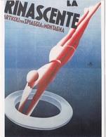 ECONOMIA ITALIANA TRA LE DUE GUERRE MOSTRA 23-9-84 M. DUDOVICH PUBBLICITA' PER LA RINASCENTE    AUTENTICA 100% - Cartoline