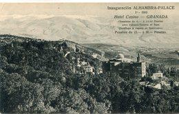 ESPAGNE(GRANADA) HOTEL(INAUGURATION) - Granada