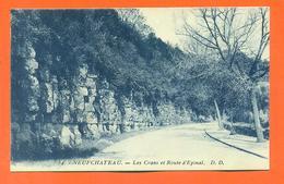"""CPA 88 Neufchateau """" Les Crans Et Route D'épinal """" - Neufchateau"""