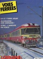Revue Voies Ferrées N° 063 Sybic, Ceinture Ouest, Draisine, Allemagne, Jura Simplon, Chronofroid, Yoyo, Lorraine Etc.... - Railway & Tramway