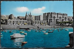 MALTA - BALLUTA BAY - ST- JULIANS - FORMATO PICCOLO - VIAGGIATA 1960 FRANCOBOLLO ASPORTATO - Malta